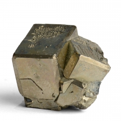 Pyrite, 2.5 x 2.3 x 2 cm.