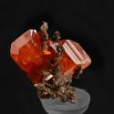 Wulfenite, 1.1 x 1 x 1 cm