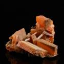 Wulfenite, 3.5 x 3.3 x 2 cm