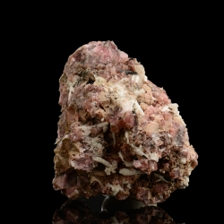 Rhodochrosite,  8.2 x 7 x 5.5 cm.