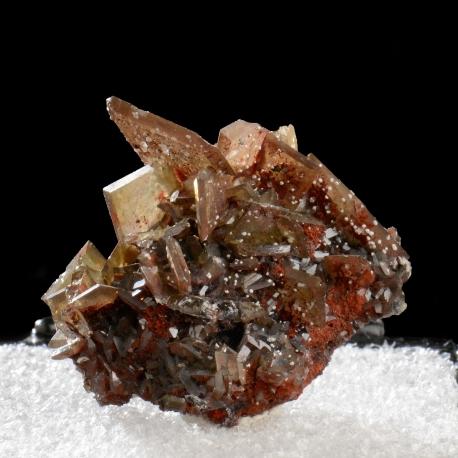 Wulfenite, 2.4 x 2 x 1.8 cm.