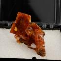 Wulfenite, 3.5 x 4 x 2.5 cm.