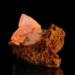 Wulfenite, 4.5 x 3.5 x 3 cm.