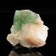 Fluorapophyllite-(K),  8 x 7.5 x 7.5 cm.