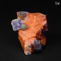 Fluorapophyllite-(K), Calcite
