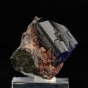 Azurite, 3.7 x 3.7 x 3 cm.