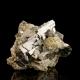 Arsenopyrite,  4.5 x 3.5 x 2.7 cm.