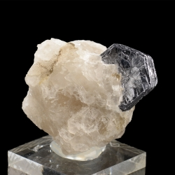 Molybdenite,  4.8 x 4 x 3.8 cm.