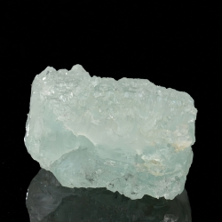 Beryl (Aquamarine variety), 8 x 6.5 x 4 cm.