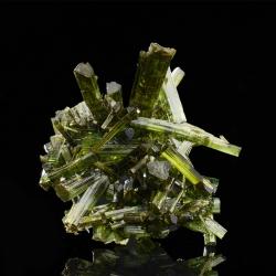 Elbaite,  5 x 4.2 x 2.5 cm.
