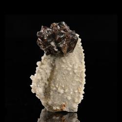 Sphalerite,  6.6 x 4.8 x 4 cm.