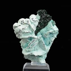 Malachite,  6.4 x 5.5 x 2.5 cm.