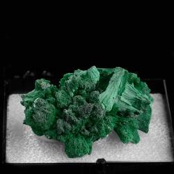 Malachite,  4.5 x 3.5 x 2.4 cm.
