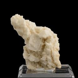 Fluorite, Adularia, 5.2 x 5.1 x 3.4 cm.