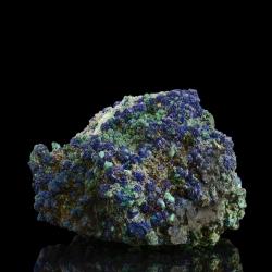 Azurite, 12.4 x 8.5 x 5.5 cm.