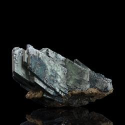 Vivianite, 8 x 4.8 x 4 cm.