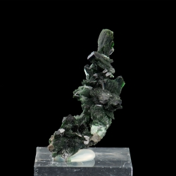 Libethenite, 3.9 x 1.7 x 1.5