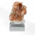 Grossular (var. Hessonite), 3.3 x 2.9 x 1.5 cm.