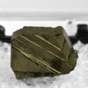 Cubanite, 1.2 x 0.8 x 0.6 cm.