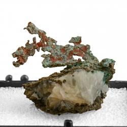 Copper, 3.6 x 3.6 x 2.5 cm.