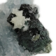 Libethenite, Quartz