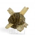 Gypsum, 7.5 x 7.5 x 7 cm.