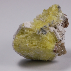 Calcite, Gonnardite epimorph of Analcime (?)