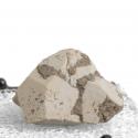 Kaolinite, 2 x 1.7 x 1.3 cm.