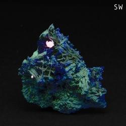 Elpidite, Calcite