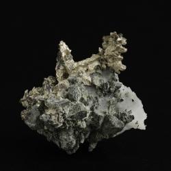 Dyscrasite, Bouimas Mine, Morocco - miniature