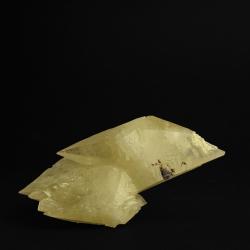 Calcite,  20 x 10.5 x 7.5 cm.
