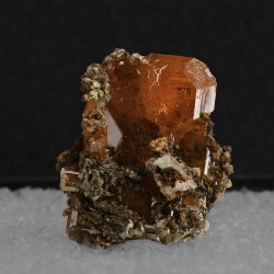 Wulfenite, Red Cloud Mine, USA - thumbnail