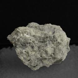 Calaverite, 2.4 x 1.8 x 1.5 cm.