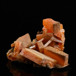 Wulfenite, Arizona, USA - miniature