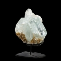 Beryl (Aquamarine variety), 8.9 x 7.3 x 5.3 cm.