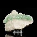 Fluorapophyllite-(K),  17 x 12.5 x 6.3 cm.