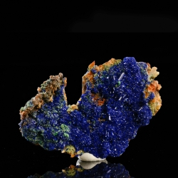 Azurite, Arizona, USA - miniature