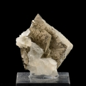 Arsenopyrite,  3 x 2.7 x 1.7 cm.