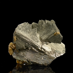 Arsenopyrite, Panasqueira Mines, Portugal - miniature