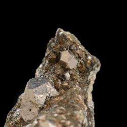 Cobaltite,  5.5 x 5.2 x 2.7 cm.
