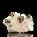 Chalcopyrite, Dreislar Mine,  Germany - small cabinet