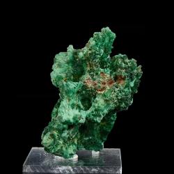 Malachite,  10.7 x 7.5 x 7.3 cm.