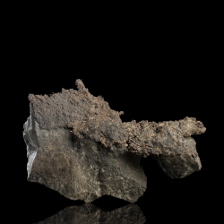 Silver, Chalcopyrite, Langis Mine, Canada - small cabinet