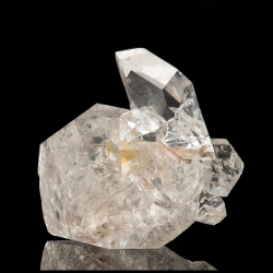 Quartz, Herkimer County, USA - miniature