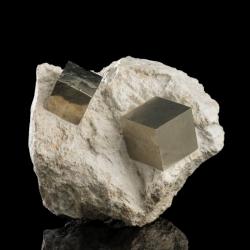 Pyrite, 13.5 x 12 x 12 cm.