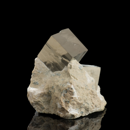 Pyrite, 8 x 7.5 x 7.2 cm.