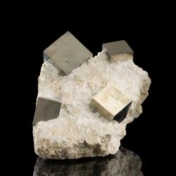 Pyrite, 10 x 6 x 6 cm.