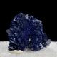 Azurite, 3 x 2.1 x 2 cm.