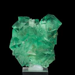Fluorite,  4.5 x 4.4 x 2.4 cm.