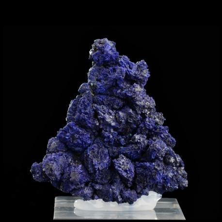 Azurite, 5.8 x 5.8 x 1.7 cm.